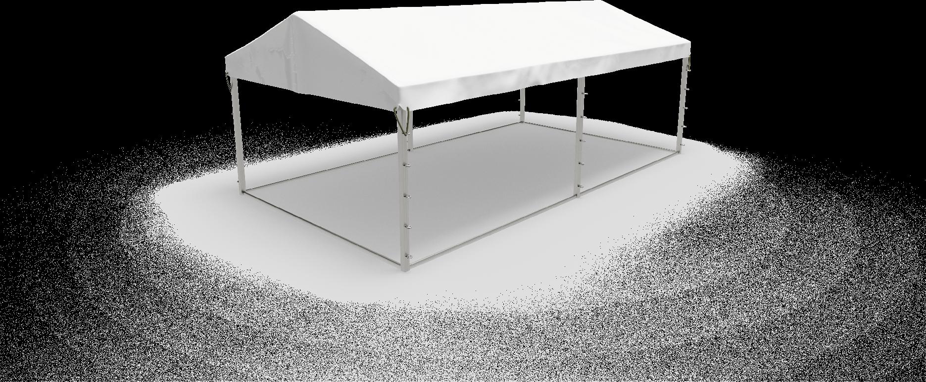 Zadaszenie z plandeki białe dach, plandeka na dach