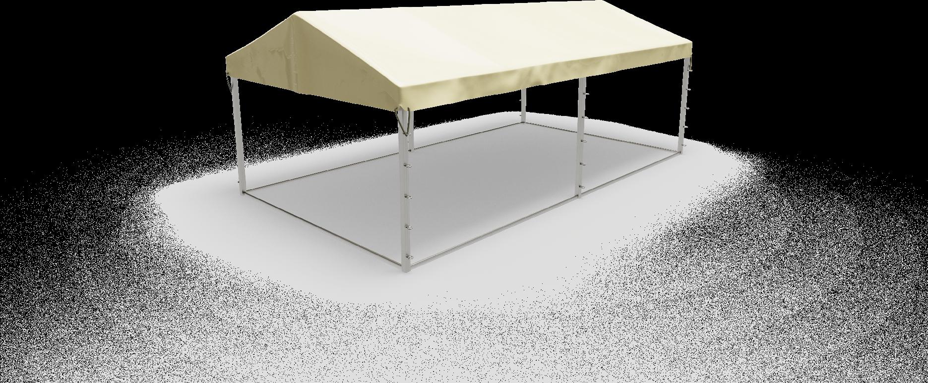 Zadaszenie z plandeki ecru, dach, plandeka na dach