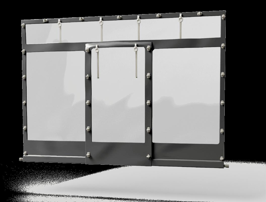 Drzwi na plandece Deki wrocław